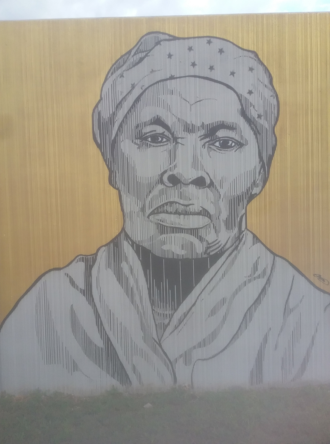 Harriet Tubman | The Freedom Wall | Buffalo, New York. Photo by the Humane Herald staff.
