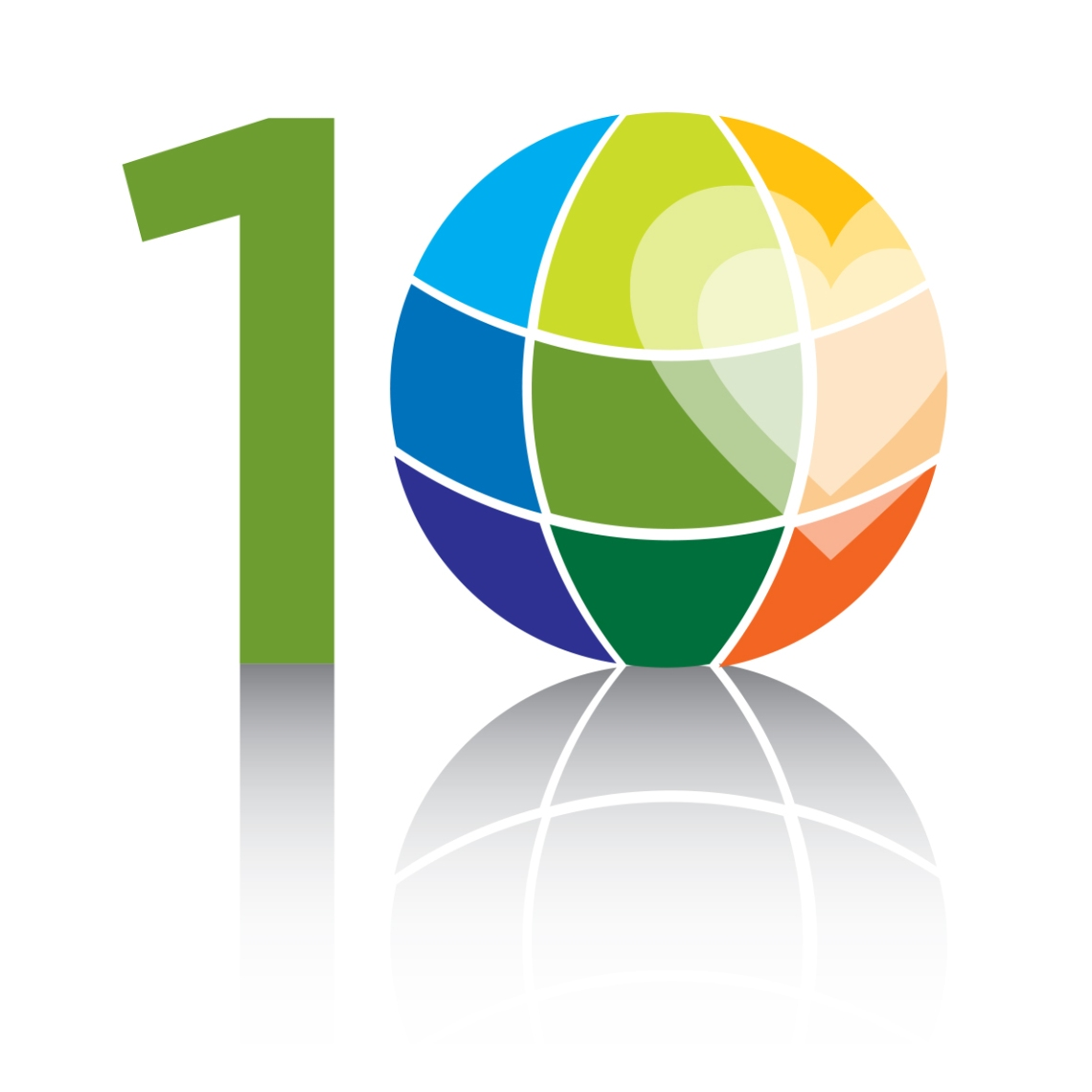 Humane Party 10th Birthday logo by Chris Censullo