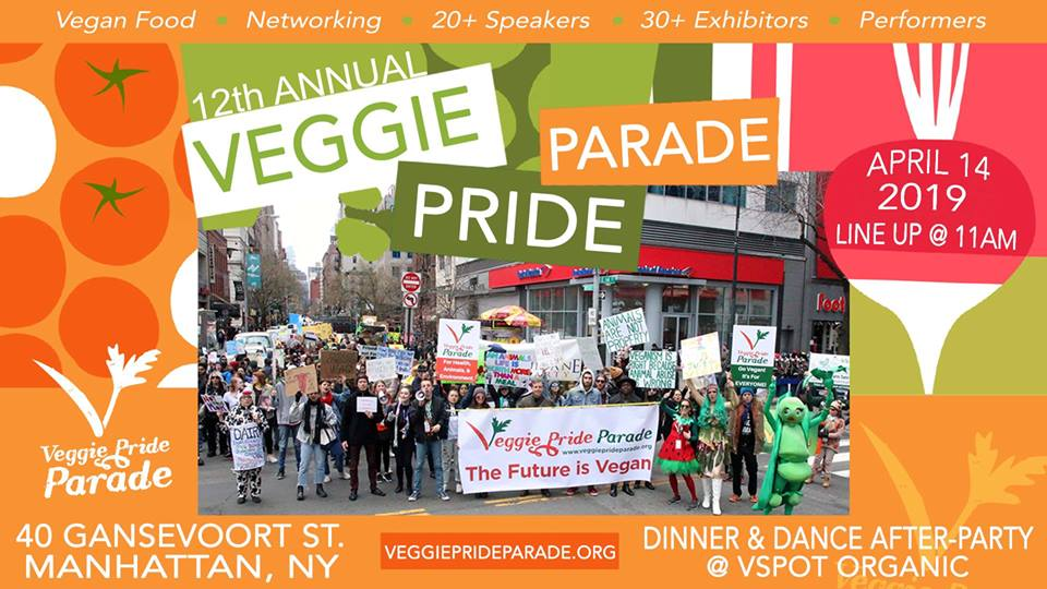 Veggie Pride Parade Predicts Thousands For NYC Rally