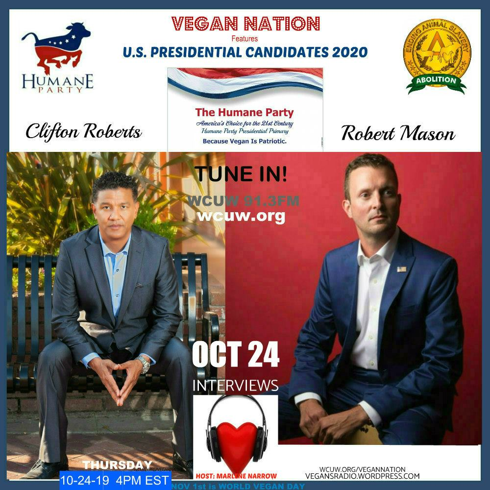 Vegan Nation Interviews U.S. Presidential Candidates