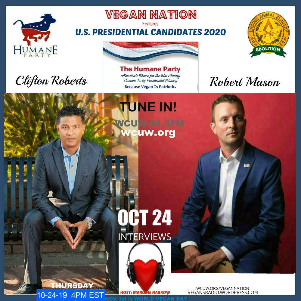 Vegan Nation Interviews U.S. Presidential Candidates